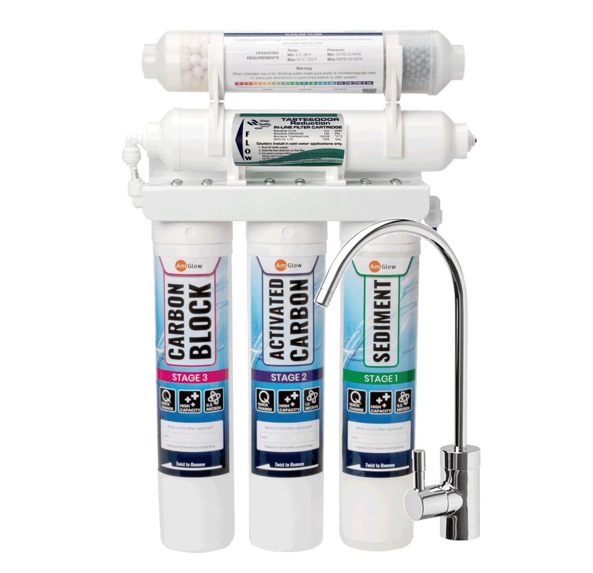 5-Stage Undersink Water Filter System
